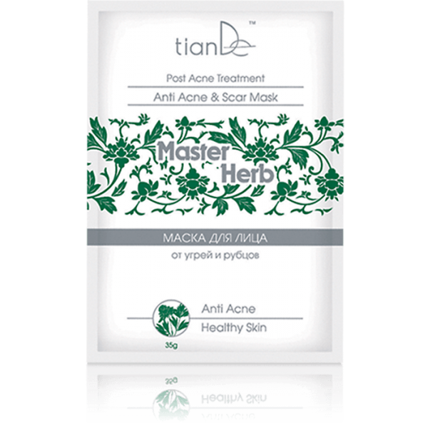Anti-acne and scars face cleansing mask