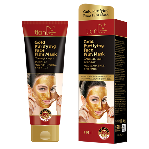 Gold Purifying Face Film Mask